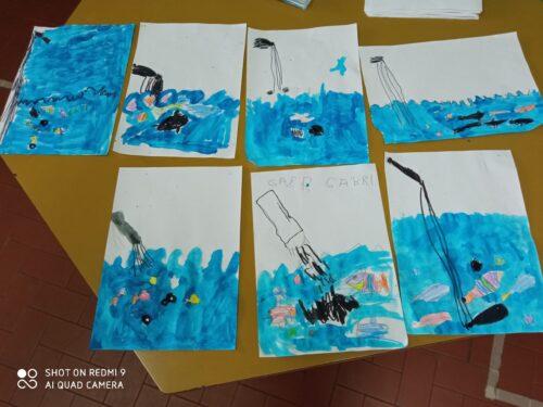 SEZ. A: Salviamo il mare e i pesci!